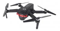 RC DRON WOLF s Wifi-FPV JPEG MP4 4K HD GPS 5GHz, APP: iOS a Android! Doba letu až 30 minut!