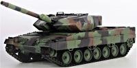 RC Tank 1:16 LEOPARD 2A6, BBS, kouř. a zvuk. efekty, kamuflážní zelená