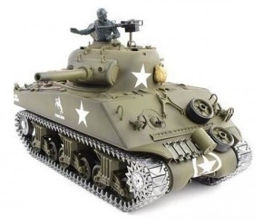 RC tank 1/16 US M4A3 SHERMAN Metal