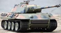 RC TANK German Panther 1:16, BBS, zvuk. a kouř. efekty, 2,4 GHz, kamuflážní zelená