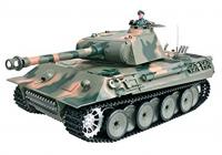 RC TANK German Panther 1:16, zvuk. efekty, BBS, ocelová limit. edice, máskáčový