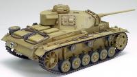 RC Tank German Panzer III type L, 1:16, zvuk. a kouř. efekty, BBS, pouštní žlutá