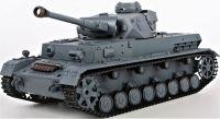 RC TANK German Panzerkampfwagen IV Ausf (F2 Type) 1:16 zvuk. a kouř. efekty, BBS, šedá