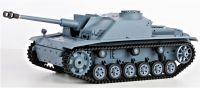 RC TANK German Sturmgeschütz III 1:16 (F8 Type), BBS, kouř. a zvuk. efekty, šedá
