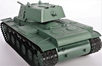 RC TANK Russia KV-1S Ehkranami, 1:16, BBS, kouř. a zvuk. efekty, armádní zelená HENG LONG