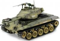 RCTANK U.S.M41A3 (Walking Bulldog) 1:16, BBS, kouř. a zvuk. efekty, ocelové doplňky, armádní zelená