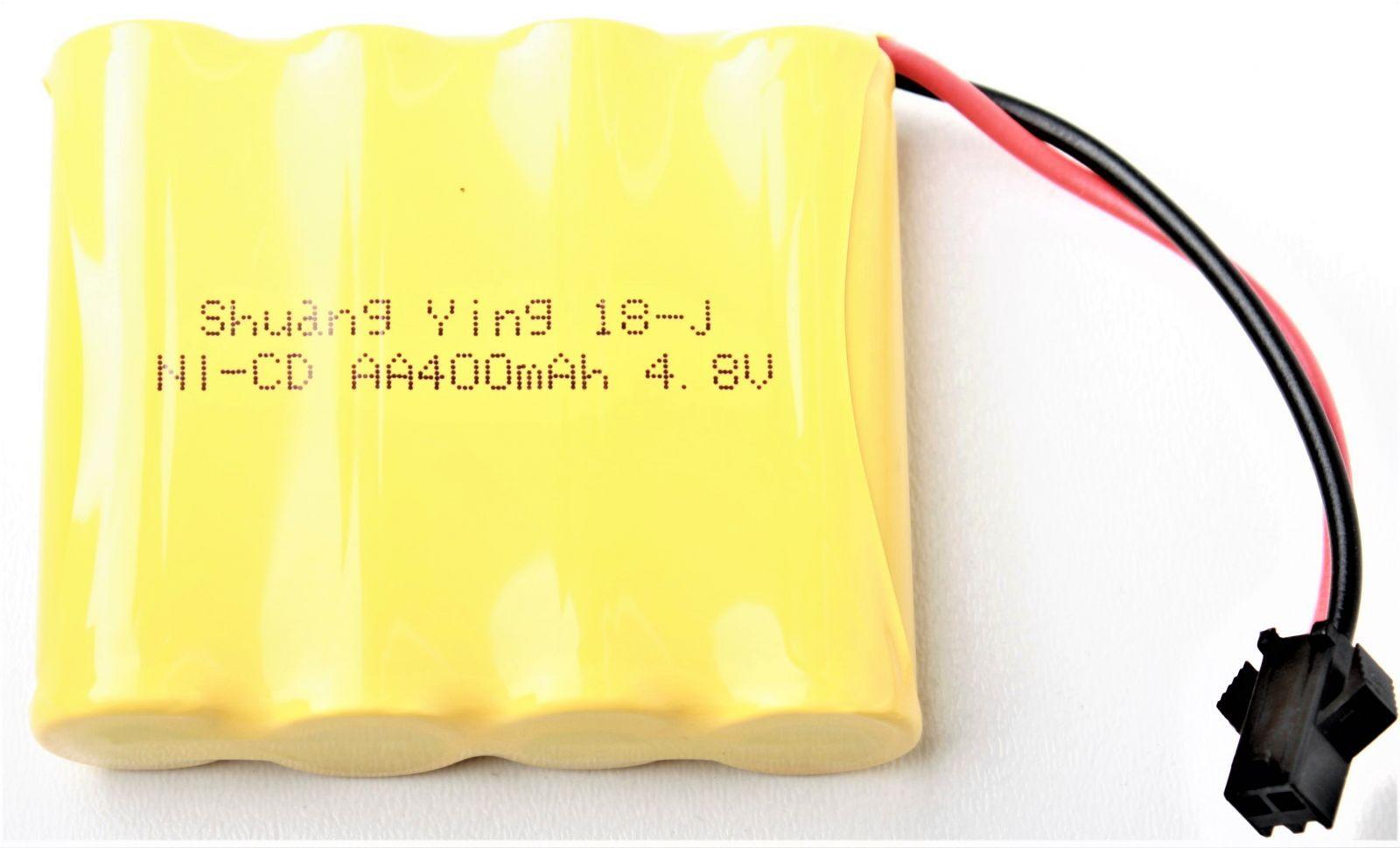 Baterie Ni-Cd 400mAh 4.8V