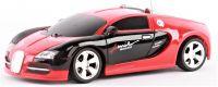Bugatti Veyron 1:24 Red Black Style