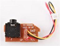 Tištěný spoj s konektorem do kamery pro Dron Koome K800 s HD kamerou
