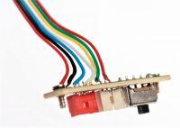 Vypínač ON / OFF + 2 konektory pro XXL DRON L5
