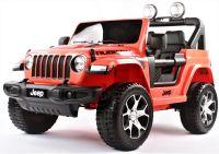 Jeep Wrangler Rubicon, 4 motorové dětské elektrické autíčko
