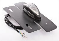 Zadní světlo s držákem pro SPZ elektrokoloběžky SUPER CHOPPER ECO HIGHWAY 2000W
