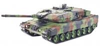 Tank LEOPARD 2A6 2,4Ghz 1:16 verze 6.0, kovová převodovka, střelba BBS, ...