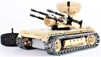 RC stavebnice Mechanical Master Vojenský tank s otočnými kulomety 2.4G