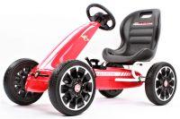 Abarth Gokart dětské autíčko šlapací s volnoběhem a pedály