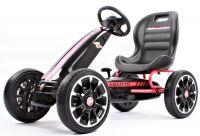 Abarth Gokart dětské šlapací autíčko s volnoběhem a pedály