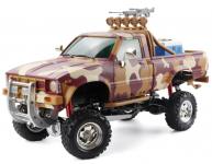 Army Crawler Pick Up 4x4, 3 rychlostní převodovka, duální řízení obou náprav