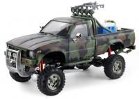 Army Crawler Pick Up 4x4, 3 rychlostní převodovka, duální řízení obou náprav, stavitelné odpružení