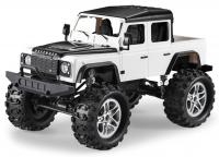 Land Rover Defender 4x4 Pickup 1:14 na dálkové ovládání 2,4GHz, 7,5 km/h, LED osvětlení