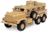 RC Military Truck 1:12 - Mega Vojenský Náklaďák 6x6 2,4GHz 16CH - plně kovová verze s navijákem