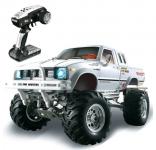 Rock Crawler 4x4 voděodolný, 3 rychlostní nastavitelná převodovka s diferenciály, kovový rám, LED