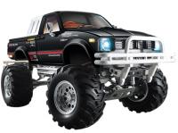 Rock Crawler 4x4 voděodolný, 3 rychlostní nastavitelná převodovka s diferenciály, kovový rám