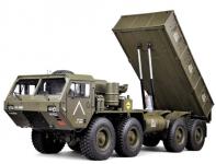 Vojenský Náklaďák RC Military Truck 8 x 8 plně kovová verze sklápěče 1:12 v max. možné výbavě