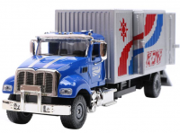Nákladní automobil s kontejnerem v kovovém provedení ve stylu US Trucks v měřítku 1:50