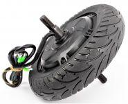 Zadní kolo s motorem a pneumatikou 200 x 50 mm pro skládací elektrokoloběžku FASTER 500W