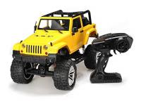 JEEP WRANGLER RUBICON 48cm 4x4 s dvoustupňovou převodovkou, žlutý