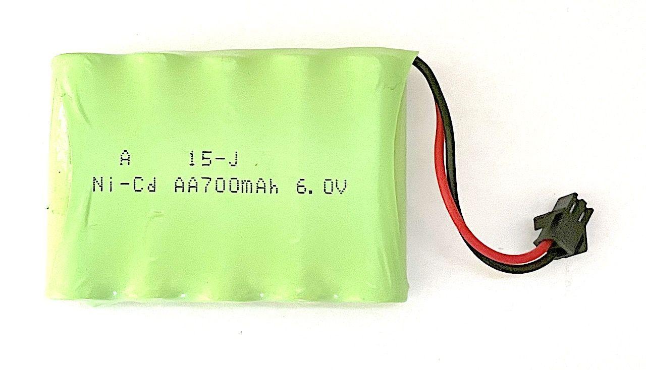Baterie 6V 700mAh Ni-Cd