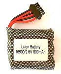 Baterie 9.6V 800mAh Li-Ion