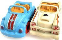 Retro set 2 kovových aut